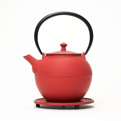 Théière Kyoto rouge