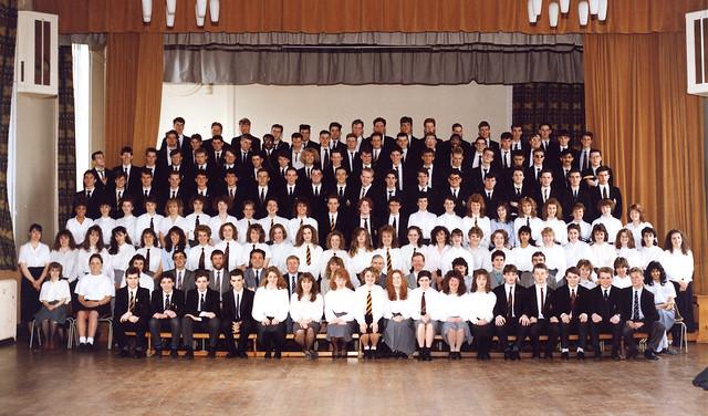 Hutton Grammar School Upper Sixth 1989 Flickr Photo