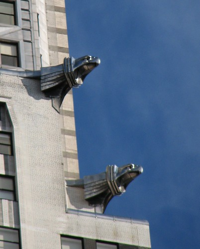 Eagle Gargoyles on the Chrysler Building
