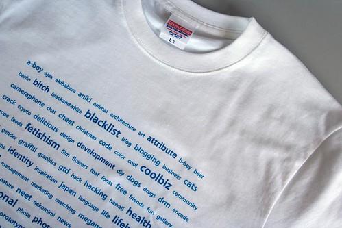 Tag T-shirt #001