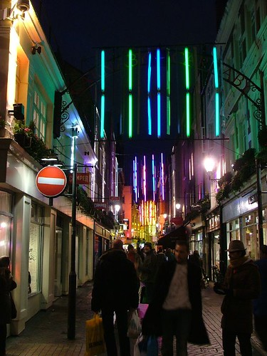 Christmas Lights in Carnaby St