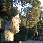 Bronze by Igor Mitoraj (1998) at Giardino di Bòboli (Boboli Gardens)