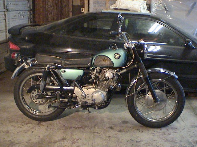 1967 Honda 305 Scrambler For Sale