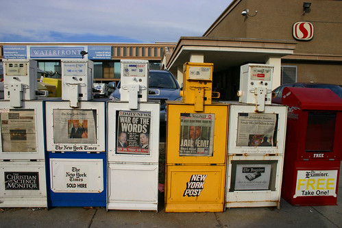 Can newspapers survive without ad sales? (Elvert Barnes/Flickr Creative Commons)