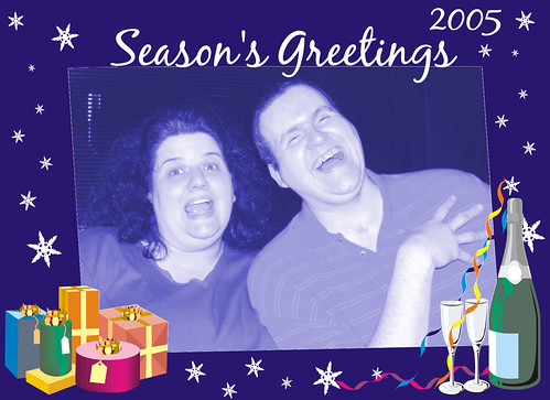 The front of our Holiday Card