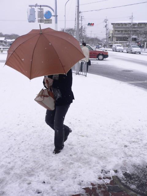 雪景色@京都