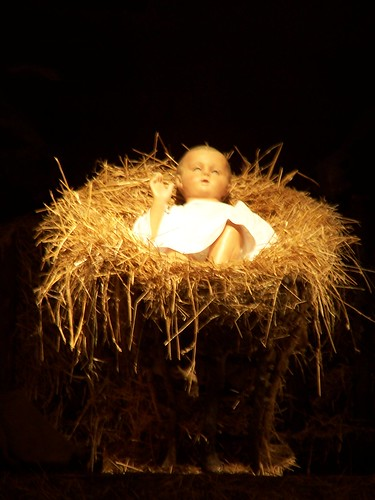 Close-up of baby Jesus