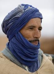 textile, clothing, head, scarf, close-up, turban, blue, portrait,