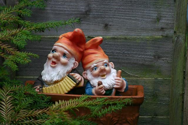 Christmas Garden Gnomes Flickr Photo Sharing