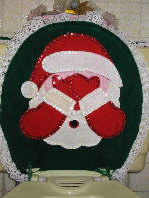 Santa Claus Toilet Seat Cover Flickr Photo Sharing