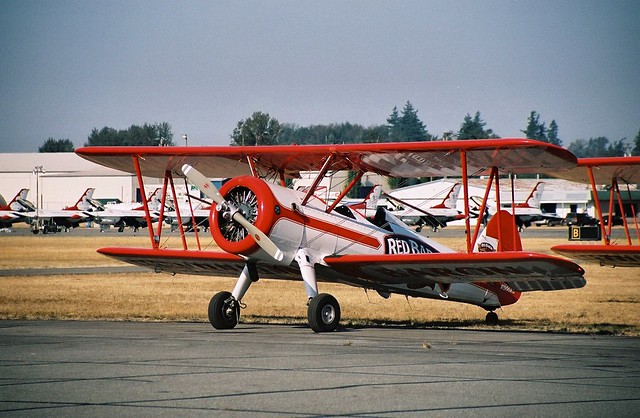 Stearman biplane (Red Baron Squadron) | Flickr - Photo ...