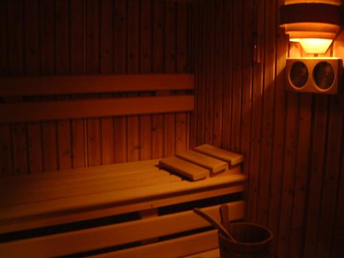 Sauna jetzt auch im Haus Blumengarten