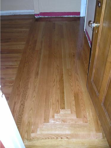 laying hardwood floor hardwood floor best basement floor covering