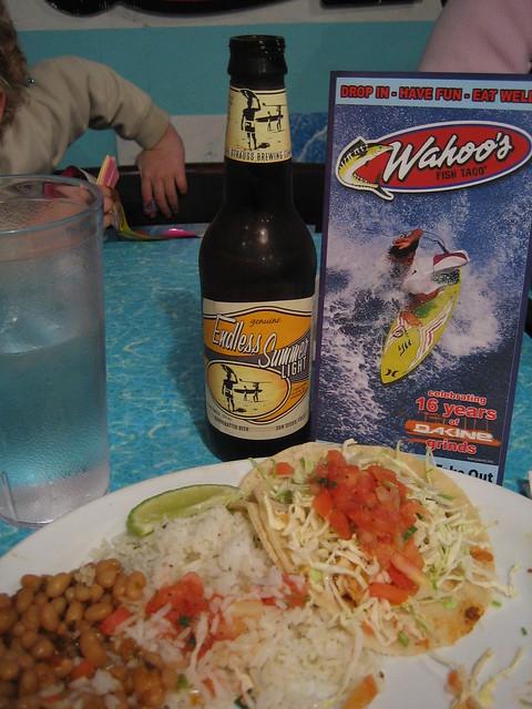 Wahoo 39 s fish taco in huntington beach flickr photo for Wahoo fish taco