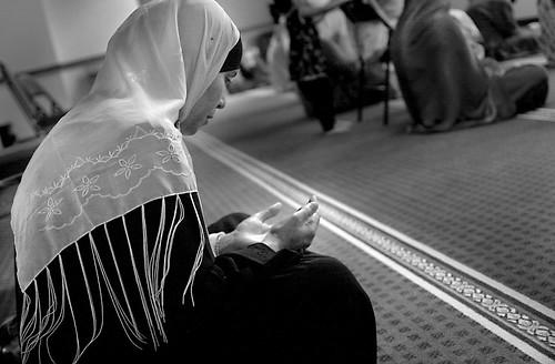 Woman praying re-edit
