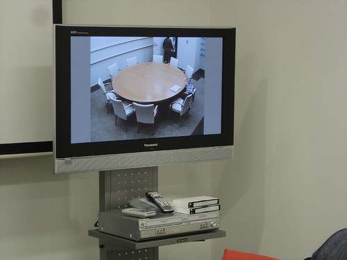 remote meeting set up, Japan