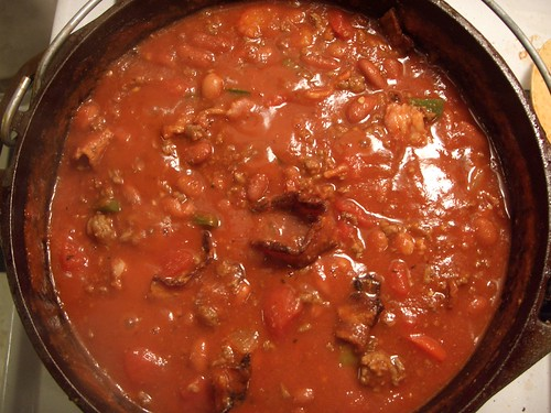 Bacon, Ground Beef, and Bean Chili | by Global Reactions