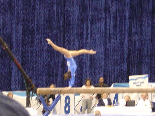 UCLA gymnastics - beam