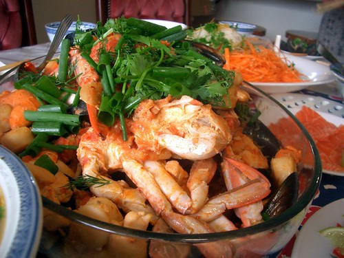 Aunty Lee Geok's Spanish Seafood Stew