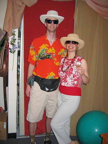 tacky tourist party