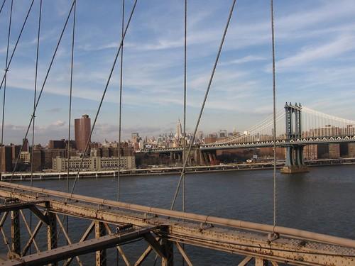 NYC Feb. 2006 - View from the Brooklyn Bridge