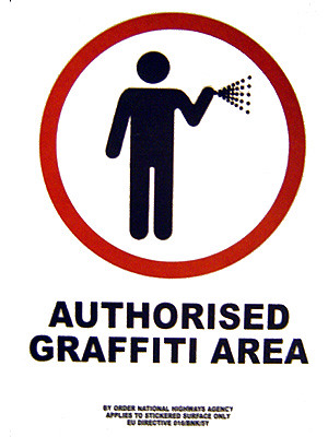 Authorised Graffiti Area (Barcelona), by scalleja