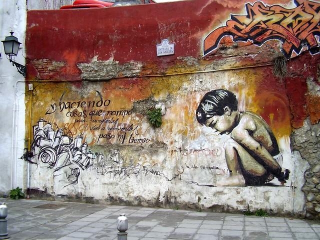 El ni o de las pinturas granada flickr photo sharing - Pinturas arenas granada ...