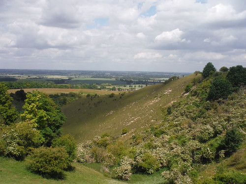 Pegsdon Hills with the Bedfordshire Plain