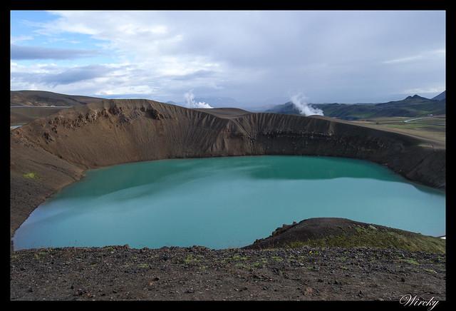 Cráter Víti del Volcán Krafla