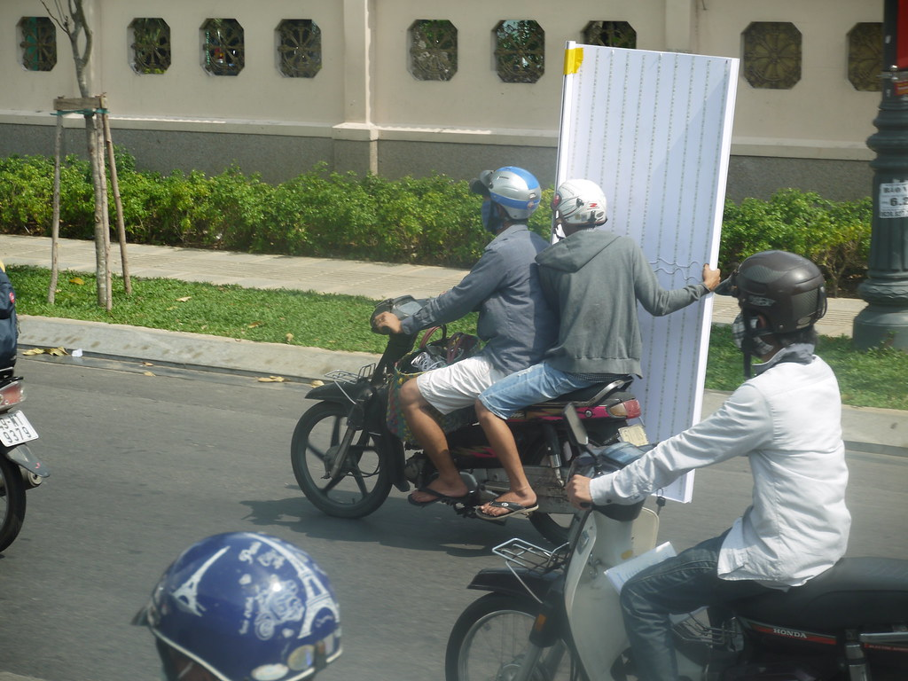 Weird things on mopeds