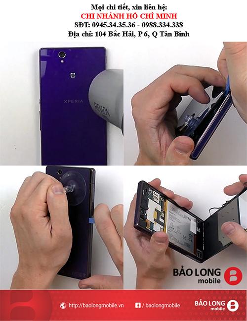 Xin hỏi về thông tin giá cả thay thế màn hình cảm ứng Sony Z1 ở TP.HCM