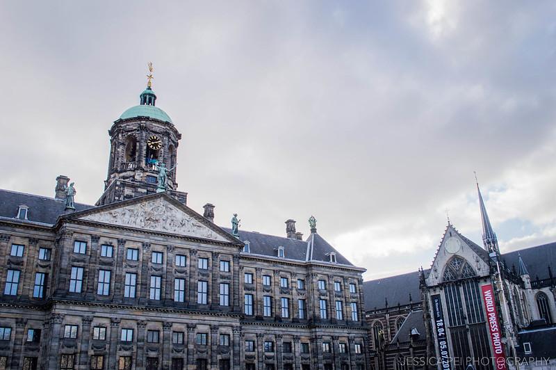 Royal Palace De Nieuwe Kerk Amsterdam