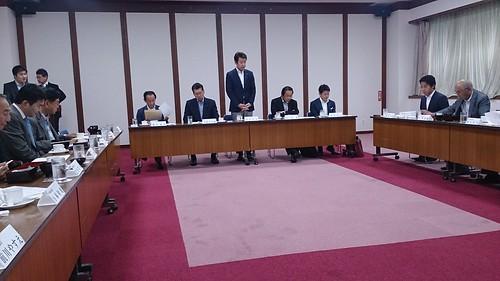 自民党埼玉15区支部緊急会議