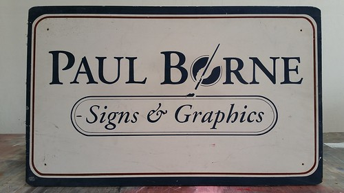 Dug out the old sign from my shop from about 1992.