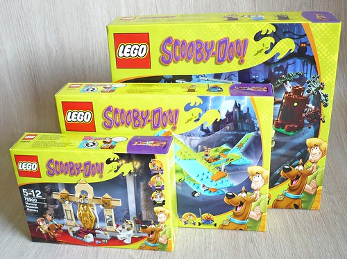 Scooby-Doo 3 sets