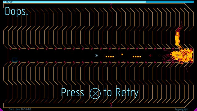 N++ on PS4: Pulse