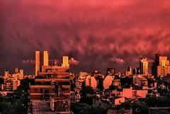 Amanecer en rojo - Sunrise in red
