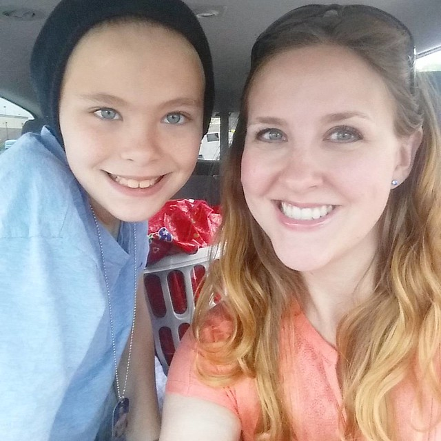 Just dropped this kid off for a 3 day weekend in New York! ❤ I give my sister and BIL lots of credit for taking an 11 year old boy and three 10 year old boys on a road trip!