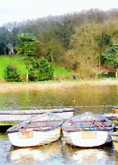 Thornton reservoir boats
