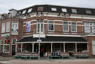 Cafe Kanaalzicht.  Utrecht, Nederlands.