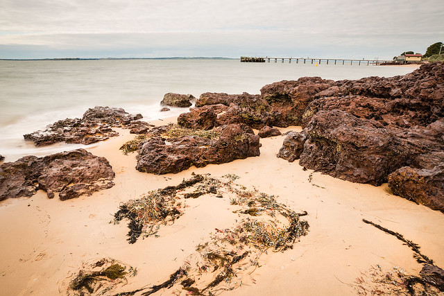 Beach at Cowes