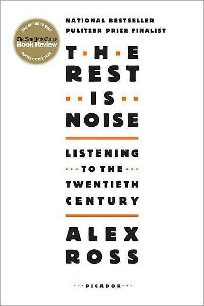 Thx Alex Ross/ The Rest is Noise !!