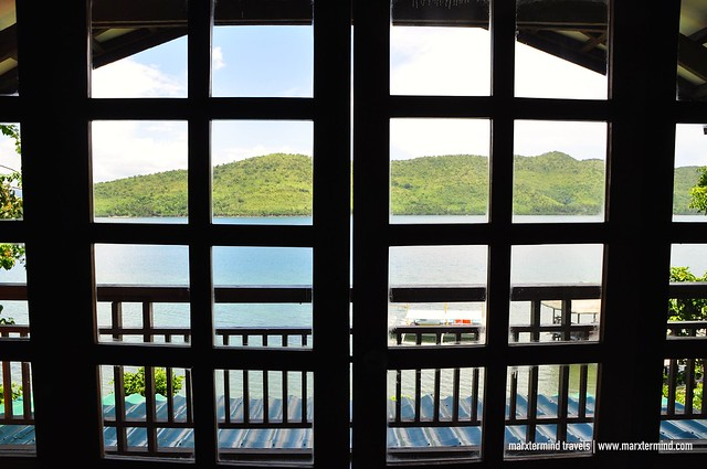 View from Our Room at La Estancia Busuanga