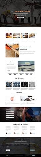 Web PSD Template