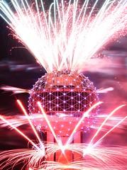 Reunion Tower Fireworks