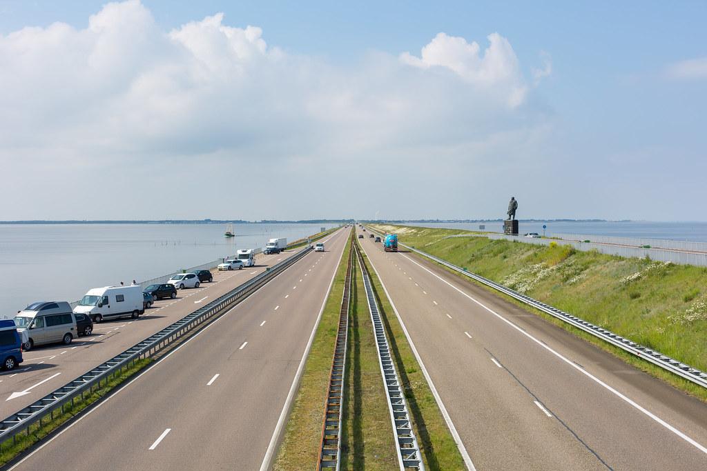 Netherlands. Afsluitdijk