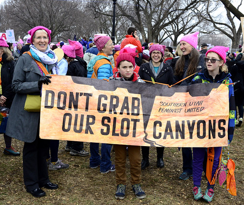Women's March On Washington Against Trump 21