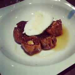 İncir tatlısı gezi İstanbul garlic restaurant & bar