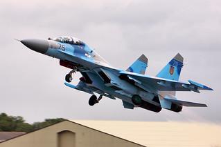 SU-27 - RIAT 2011