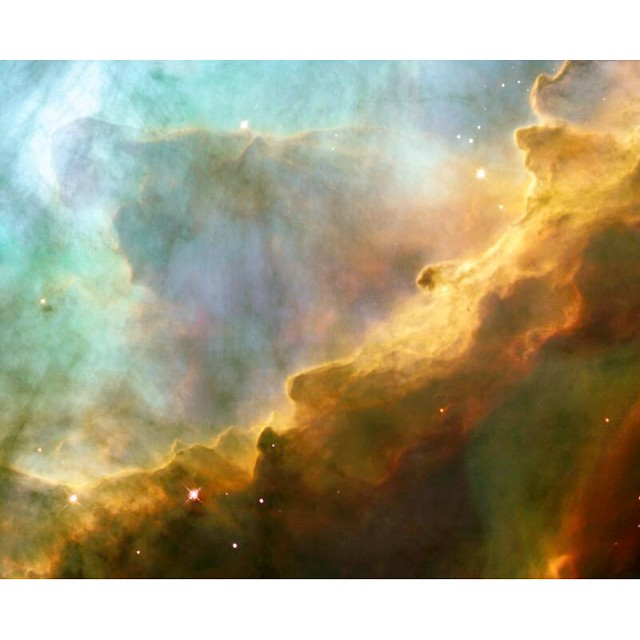 Swan Nebula Taken by Hubble Telescope